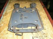 Simplicity Allis Chalmers Seat Support And Slide Sovereign 18 Tractor