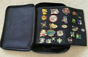 Cooperstown Dreams Park Baseball Pins Vintage 2004 Carrying Case - A Lot Of 67