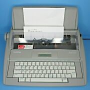 Brother Sx-4000 Electronic Electric Typewriter And New 1030 Ribbons Works Great