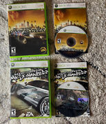 Need For Speed Lot Undercover/most Wanted Xbox 360 Complete Tested