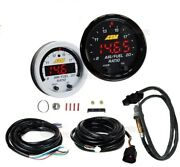 Aem For 3 Gauges Combo Set - Uego Wideband A/f Ratio +turbo Boost + Oil Pressure