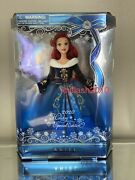 Disney Ariel Doll The Little Mermaid 2020 Holiday Christmas Special Edition 11''