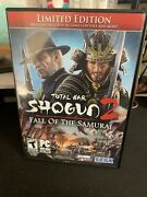 Total War Shogun 2 Fall Of The Samurai Limited Edition Pc Game With Manual