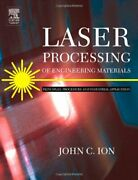 Laser Processing Of Engineering Materials Principles By John Ion - Hardcover