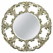 1 Of 2 Rrp Andpound2850 Christopher Guy Gold And Silver Leaf Gilt Wood Wall Mirrors