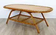 Mid Century Modern Carl Koch For Vermont Tubbs Side End Horseshoe Table 1950s