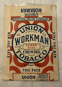 Union Workman Chewing Tobacco Pouch - Free Sample - Unused B
