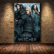 The Witcher Original Tv Show Poster Art Reproduction Posters And Prints Deco