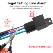 Car Relay Gsm Locator Gps Tracking Devices Cut Off Oil Power Anti-theft System