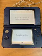 Nintendo 3ds Midnight Purple Portable Gaming Console + 2 Games Tested