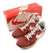 Nike Challenger Sneakers Nylon Suede Brown Dead Stock Menand039s 7h 1979 Vintage