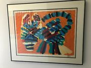 Karl Appel Cat Lithograph Sunshine The Long Tail