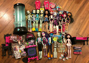 Rare Used Misc Monster High Retired Huge Lot Loose Parts