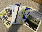 Job Lot Of 10 Northern League Football Programmes All Listed