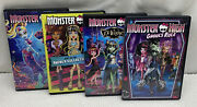 Monster High Dvd Lot 13 Wishes Ghouls Rule Great Barrier Reef