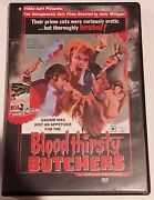 Bloodthirsty Butchers And The Rats Are Coming The Werewolves Are Here Dvd Horror