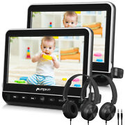 10.1 Portable Dvd Player Car Headrests Monitor Tv Screen Hdmi Usb/sd Av In/out