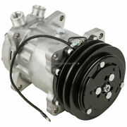 Ac Compressor And 132mm A/c Clutch Replaces Sanden Sd709 Sd7h15 4643 7445 12v Tcp
