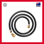 Gasmate 1500mm Bbq Gas Hose Fitting Extender Safety Extension Replacement Hose