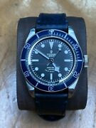 2015 Tudor Heritage Black Bay 79220b Blue Bezel. Boxed With Papers.