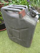 Vintage 1951 And 1967 British Military Army War Department Jerry Cans