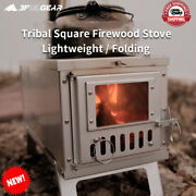 Camping Outdoor Wood Stove Ultralight Stainless Burner Survival Tent Heat Stoves