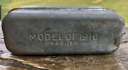 Old Wwi Bacon Tin Model Of 1916 Sandb 1918 Military Ration Can