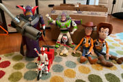 6 Piece - Toy Story Action Figures Set [ Woody, Buzz, Zurg, Forky, Duke Kaboom ]
