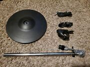 Roland Cy-12r/c V-drum Ride W/ Cymbal Arm, Rack Clamp And 2 Cables Cy Cc104