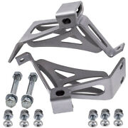Engine Motor Mount Brackets Kit For Chevy C10 Gmc Small Blcok 6372mp-sm