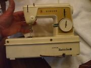 Childs Vintage Singer Little Touch And Sew Sewing Machine Model 67a23