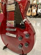 Gibson Les Paul Studio Wine Red Electric Guitar W/soft Case Ships Safely From Jp
