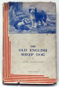 The Old English Sheep Dog Tilley Revised Edition 1937 Hc/dj And Original Invoice