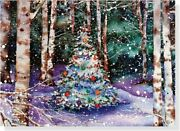 Festive Forest Holiday Boxed Cards Christmas Cards, By Peter Pauper Staff New