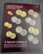 Heritage Auction Catalog World Ancient Coins May 6-7, 2021 Dallas Brazilian Coin
