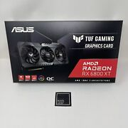 Asus Tuf Gaming Amd Radeon Rx 6800 Xt Oc Edition Free And Fast Shipping