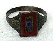 Wwii Son In Service Sterling Ring