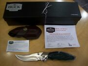 Limited Edition Buck Knife 419 Kalinga Rare 1 Of Only 50 Made Gem Mint New