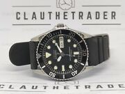 Pre-owned Seiko Diver 7s26-0050 Skx023j 10bar Automatic Men's Watch S.n 302332