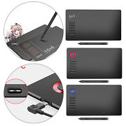 Graphics Drawing Tablet 10x6 Inch For Mac Windows For Drawing Online Classes