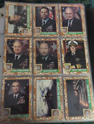 Desert Storm Military Collector's Cards Topps Sets 1 Thru 3 Including Stickers