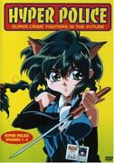 Masahide Okino - Hyper Police - Episodes 1-4 - Dvd - Animated Color Dolby New