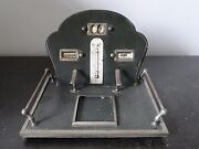 Desk Tidy Accessory, Calender,thermometer, Missing Inkwell, Nice Shape And Style