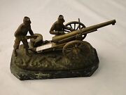 French Figur Bronze Military Themed Marked And Signed Fantastic Dated 1860