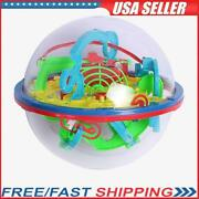 100step 3d Puzzle Magic Maze Intellect Ball Labyrinth Sphere Kid Toys