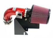 Kandn Typhoon Intake Red For 2002-2004 Ford Focus Svt 2.0l