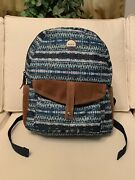 """Roxy Women's Printed 16""""x12.5"""" Multipocket Padded Back Backpack"""