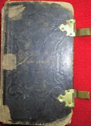 Civil War Period 1865 Identified Book - Daily Handbook Of Rejoicing And Sorrow +