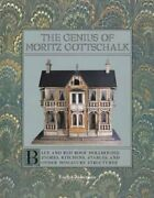 Genius Of Moritz Gottschalk Blue And Red Roof Dollhouses, By Evelyn Ackerman Vg