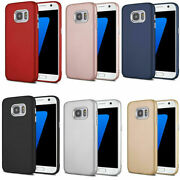 For Samsung S7/s8/s9/s7 8 Plus/n8/n9 Shockproof Hybrid Matte Tpu Soft Case Cover